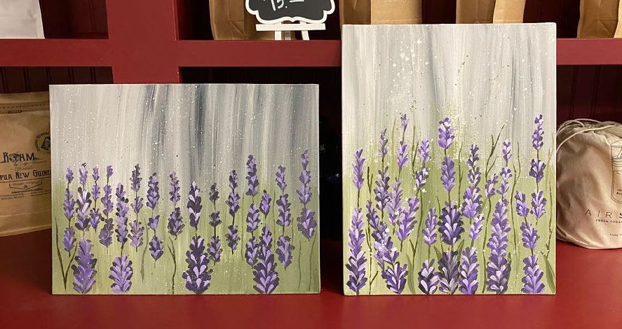 Lavender Paint Night