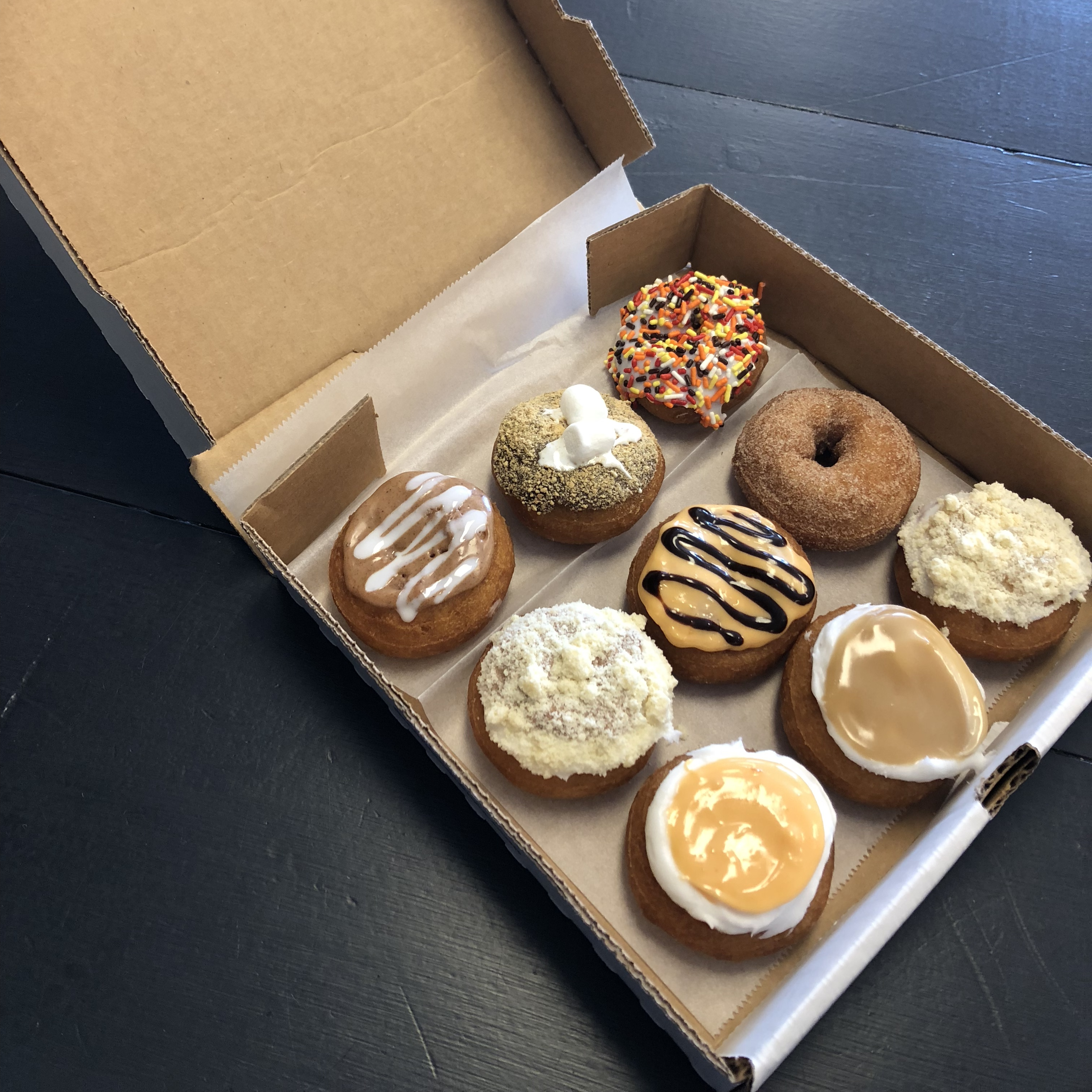 see the newest donuts from davinci s donuts